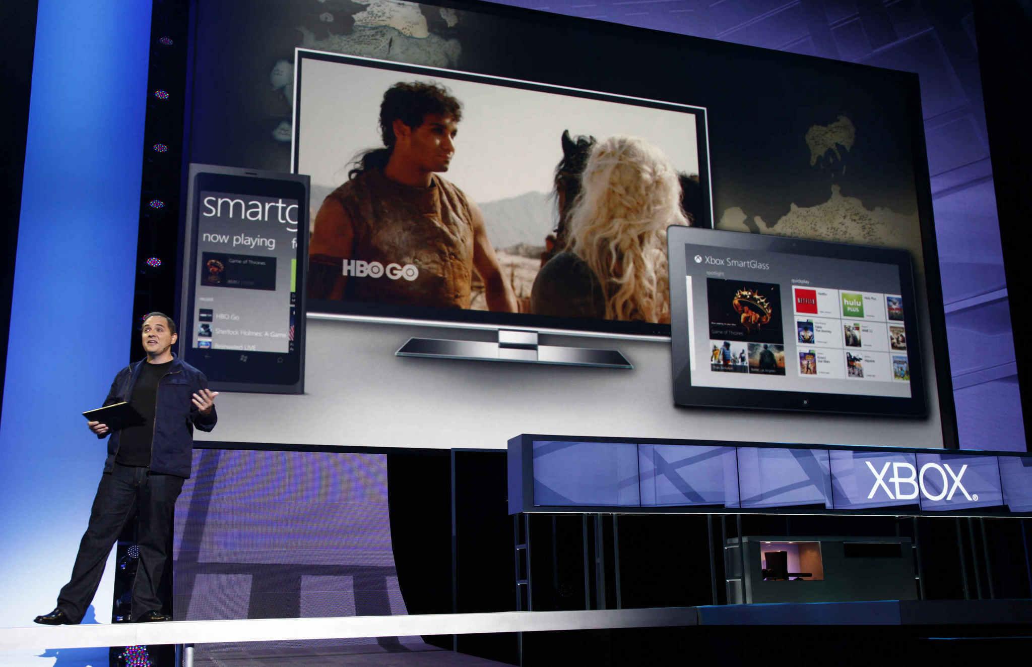 Smartglass for Xbox 360 presented at E3 2012